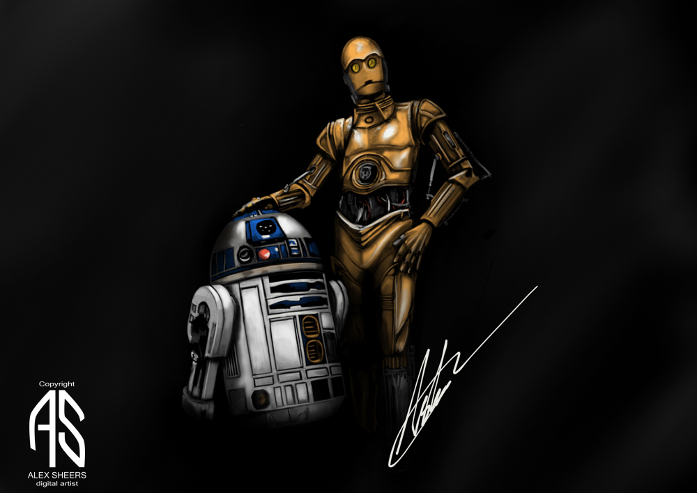 R2d2 and C3p0
